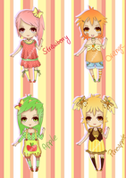 240 Points Fruit Adoptable - CLOSED by I3umblebee