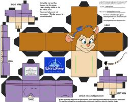Dis34: Gadget Hackwrench Cubee by TheFlyingDachshund
