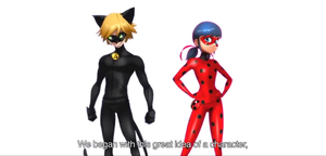 Miraculous Ladybug and Chat Noir - Concept art by QueenAncana