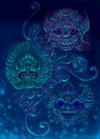 Guardians of the South Sea by tentaculus