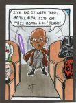 Mace L Jackson sketch card by johnnyism