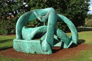 Four Piece Moore At Kew, 2007 by aegiandyad