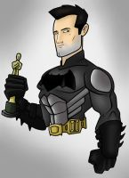 Ben Affleck Batman Toon By Kryptoniano 2 by Kryptoniano