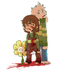 Hey Chara... Do you think people can change? by undershirt