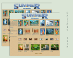 Seasons Summer Gallery CSS Vol.1.5 by poserfan