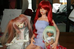 New Leeke Wigs by Cometblack