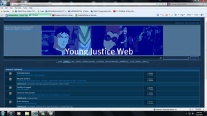 Young Justice Web by QuestionRenee
