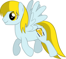 [VECTOR PIC] Trotting Lightning Rocker by LightningRocker2013