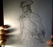 :sketch: haytham k. by ufficiosulretro