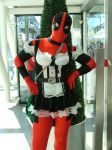MCM Expo: Maid Deadpool by LabyrinthLadyLover