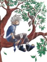 Young Kakashi by kimmie-kmh