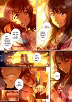 Reina x Kumiko short comic pg.3 by CherryInTheSun