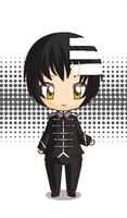 Death The Kid Chibi by GothGirl124