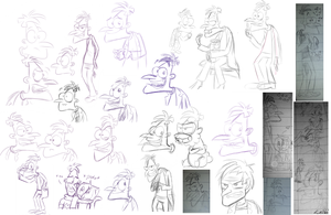 The Unworthy Doof Doodle Collection by Leibi97