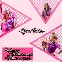 PACK PNG DE VIOLETTA EN VIVO by GimeCONTRERAS