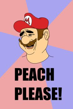 Peach Please by FireMoose