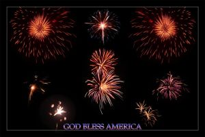 God Bless America by someole3d