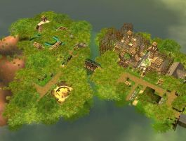 RCT3 jungle day by Coasterdl