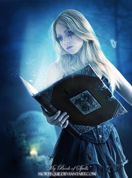 .:My Book of Spells:. by Morteque
