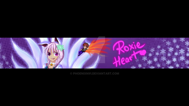 YouTube Banner for my lover by phoenixn91