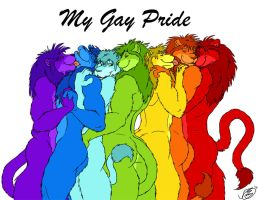 My Gay Pride by ziude