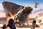 Star Wars Jawas execution by pierreloyvet