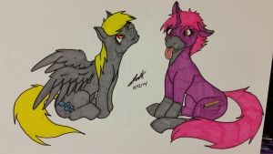 Never derp alone! by minusthesky