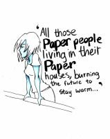 A Paper Town for a Paper Girl by FullMetalViolinist