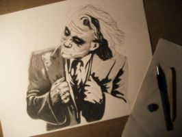 Why so Serious? WIP by emicathe