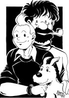 The Adventures of Tintin by Yamatoking