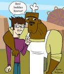 Jake and Chef best buddies by Laura-McLean