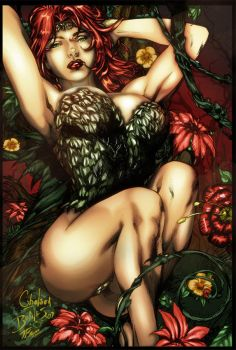 Poison Ivy by Ch-Hell-Sea