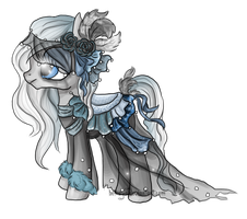 MLP: Grey Pony Commission by Blesses