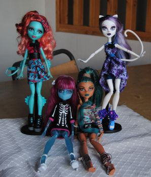 My little Monster High collection by Lo-chan07