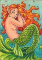Deep Water Dreamer Art Card by stephanielynn