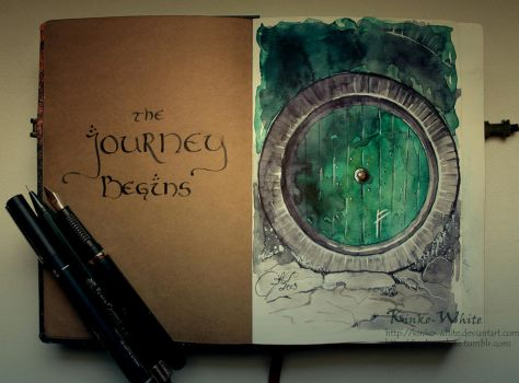 The Journey Begins... by Kinko-White