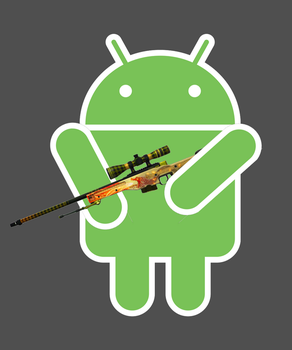 Android with Dragon Lore by SunyaMacs