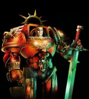 BLOOD ANGEL by skullsgunsandfire