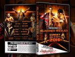 RPW Summer sizzler 2016 official DVD artwork by THE-MFSTER-DESIGNS