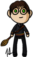Harry Potter - Harry Potter by shrimp-pops
