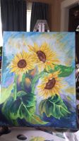 Sunflowers by JaidedHollyCat