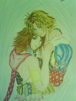 tidus and yuna by rishyanimegirl