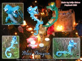 Blue Dragon Popke by LadyRafira