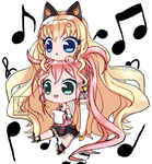 [VOCALOID] Lets sing a song! [Uni And SeeU] by melobunii-P