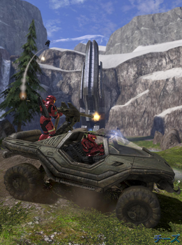 Halo 3 Outrun by chees502