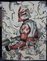C2E2 Sketch: Clone Trooper by grantgoboom