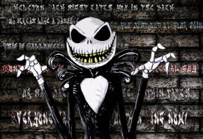 Jack Skellington Scarey by Little-Horrorz