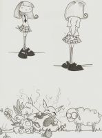 Gris Grimly Doodles by AliceTheLookingGlass