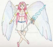 Celia, Wind Winged, Colored by shadow-otm