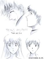 Tears And Pain by Misato-x-Shinji-Club